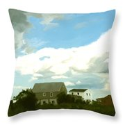 Cape House Throw Pillow