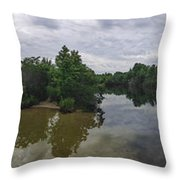 Cape Island Wildlife Refuge - Cape May New Jersey Throw Pillow