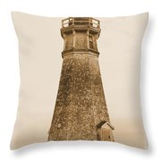 Cape Jourimain Lighthouse Throw Pillow