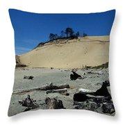 Cape Kiwanda Sand Dune Throw Pillow