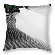 Cape Le Grande Sand Dune Throw Pillow