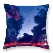 Cape Le Grande Sunset Throw Pillow