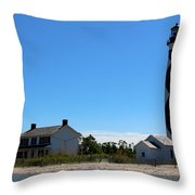 Cape Lookout Approach Throw Pillow