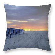 Cape May At The Crack Of Dawn Throw Pillow