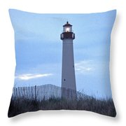 Cape May Evening Throw Pillow