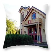 Cape May Fire Company Throw Pillow