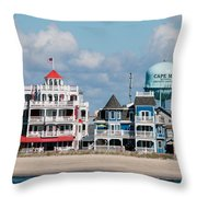 Cape May Throw Pillow