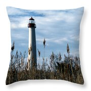Cape May Light Throw Pillow