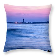 Cape May Seascape Throw Pillow