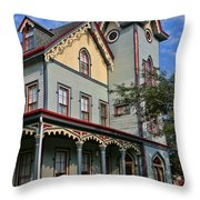 Cape May Victorian Throw Pillow