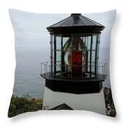 Cape Meares Light Throw Pillow