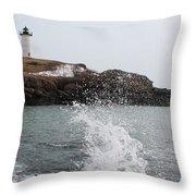 Cape Neddick - Nubble Light 4 Throw Pillow
