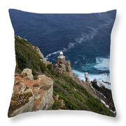 Cape Of Good Hope  Throw Pillow