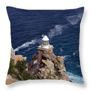 Cape Of Good Hope Lighthouse Throw Pillow