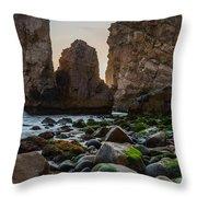 Cape Roca I Throw Pillow