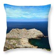 Cape Sandalo - Carloforte Throw Pillow