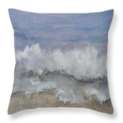 Cape Winds Wave Throw Pillow