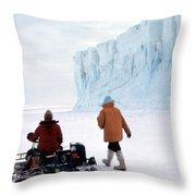 Capeevans-antarctica-g.punt-2 Throw Pillow