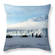Capeevans-antarctica-g.punt-7 Throw Pillow