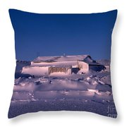 Capeevanshut-antarctica-g.punt-4 Throw Pillow