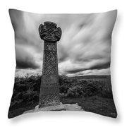 Capel Gwladys Mono Throw Pillow