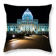 Capital Throw Pillow