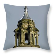 Capital Dome Spindle Top Throw Pillow