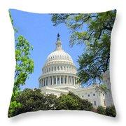 Capital Hill Throw Pillow