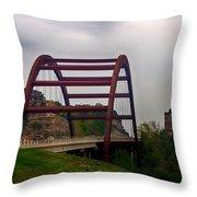 Capital Of Texas Bridge Throw Pillow