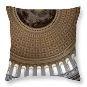 Capitol Cupola Washington Dc Throw Pillow
