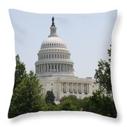 Capitol Dome  Washington Dc Throw Pillow