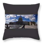 Capitol Early Spring Throw Pillow