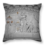 Capitol Government Throw Pillow