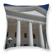 Capitol Pillars - Richmond Throw Pillow