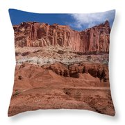Capitol Reef Majesty Throw Pillow