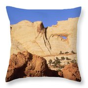Capitol Reef National Park, Utah Throw Pillow by Mark Newman