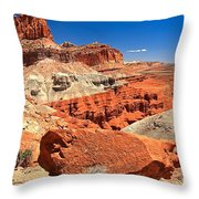 Capitol Reef Waterpocket Fold Throw Pillow