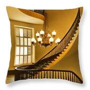 2 - Capitol Staircase - Montgomery Alabama Throw Pillow