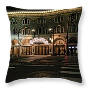 Capitol Theatre Throw Pillow