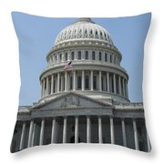 Capitol Washington Dc Throw Pillow