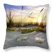 Captiva  Sunset Throw Pillow