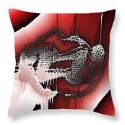 Capoeira 9 Throw Pillow