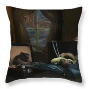 Capone - Revised Throw Pillow