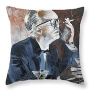 Capote By Hoffman Throw Pillow