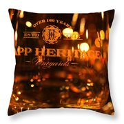 Capp Heritage 3 Throw Pillow
