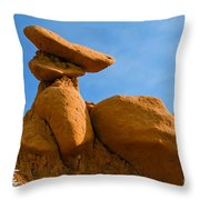 Capped Rock Throw Pillow