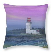 Capricious Lighthouse... Throw Pillow