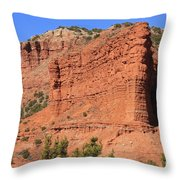 Caprock Canyon 2 Throw Pillow
