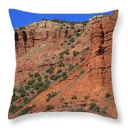 Caprock Canyon 3 Throw Pillow