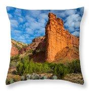 Caprock Canyon Rim Throw Pillow